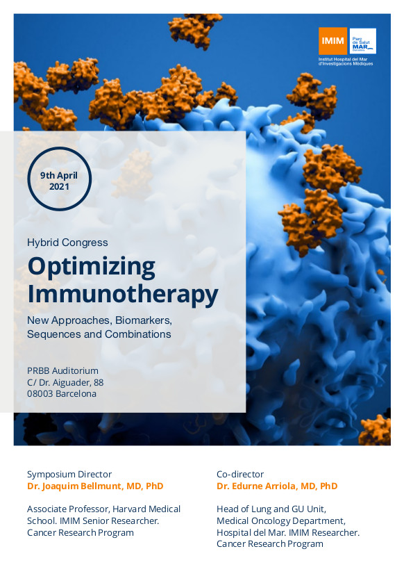 Optimizing Immunotherapy. New Approaches, Biomarkers, Sequences and Combinations